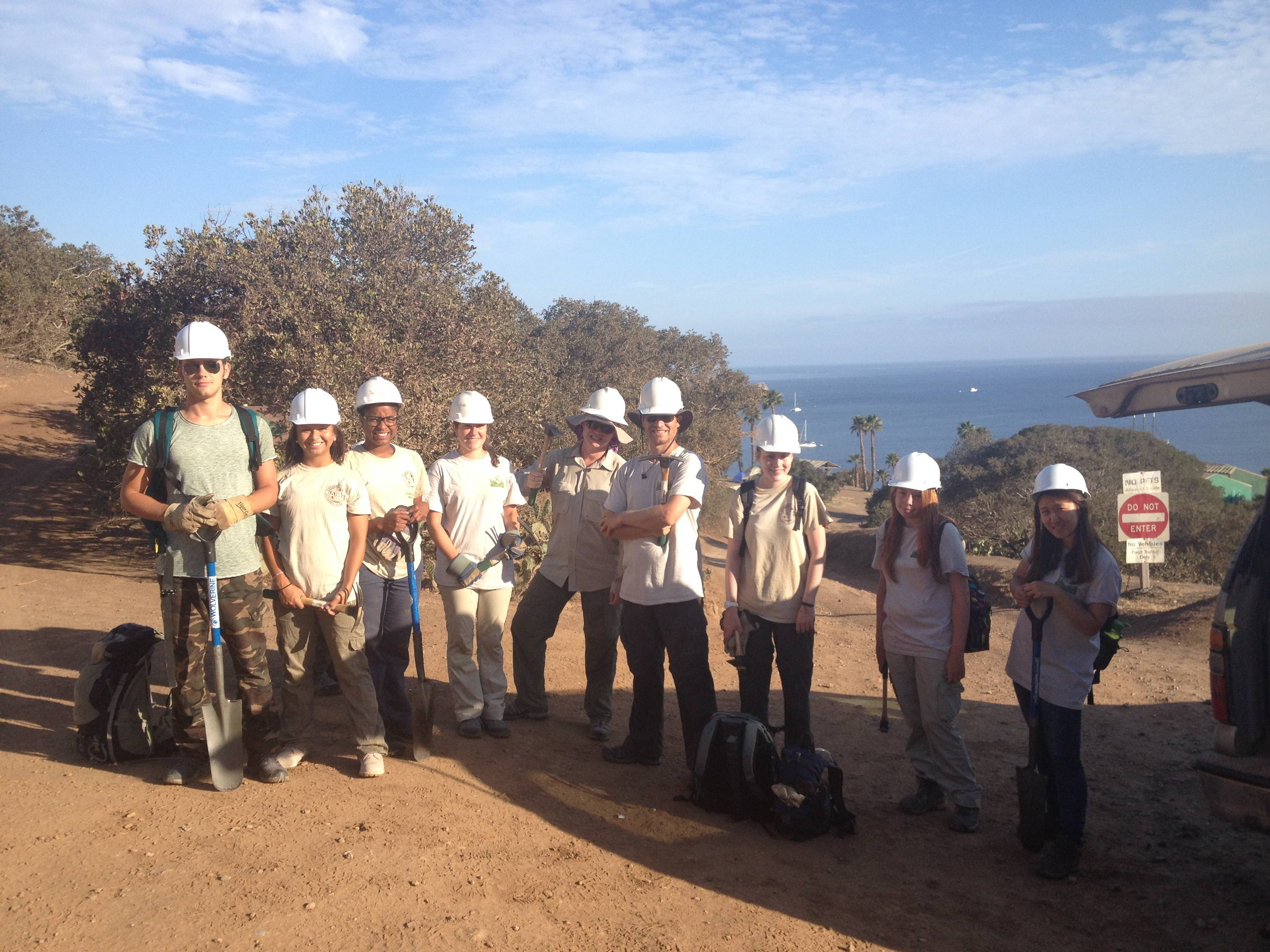 ACE Volunteers, Catalina Island, California