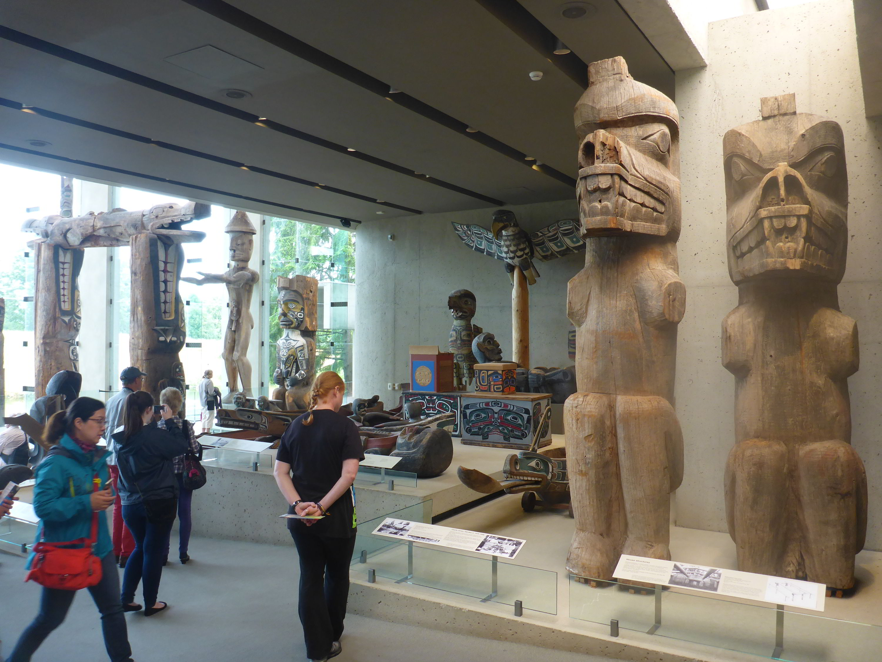 Museum of Anthropology at British Columbia University, Vancouver, Canada