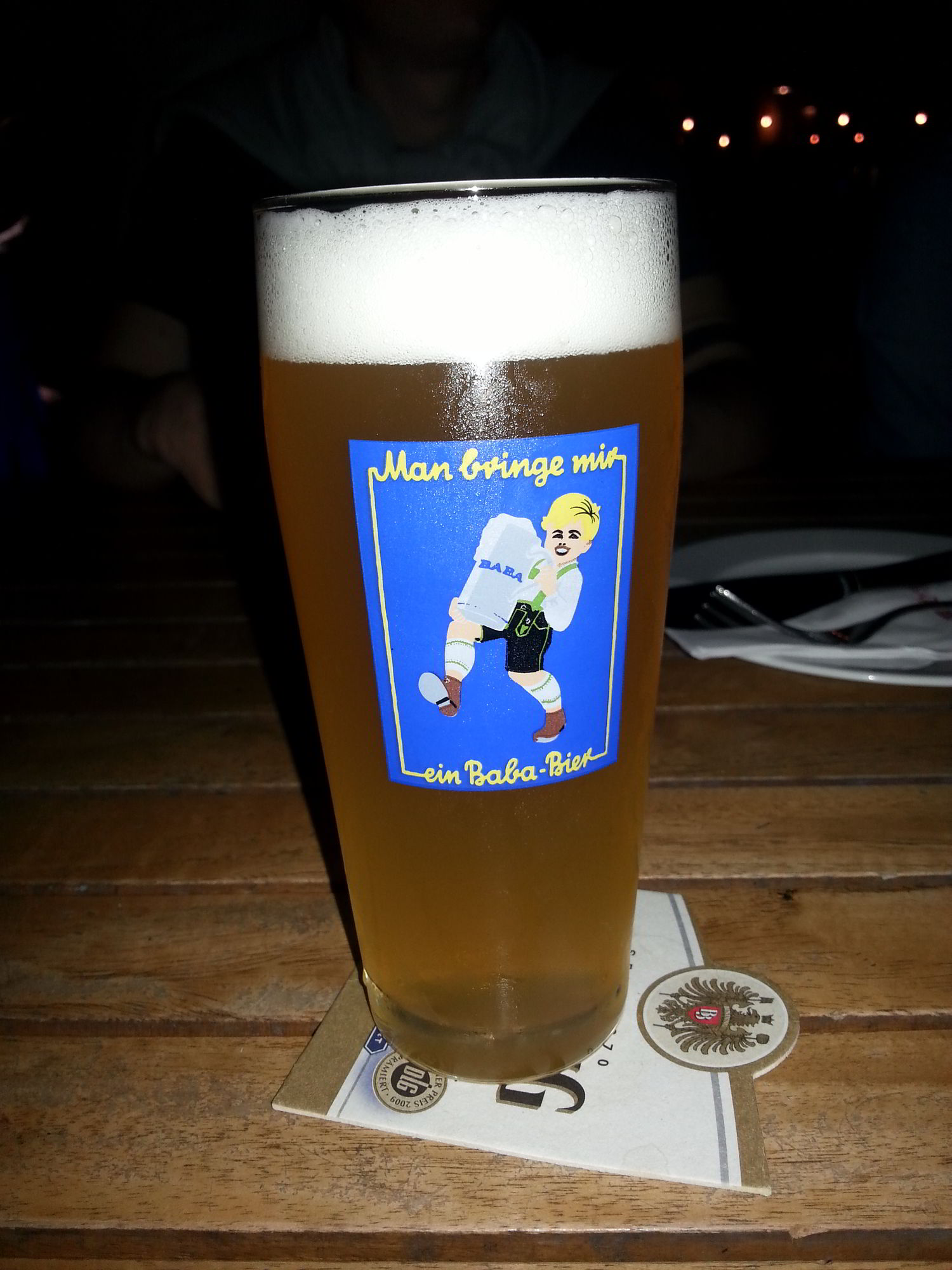 Baba Bier, an Aschaffenburg Tradition