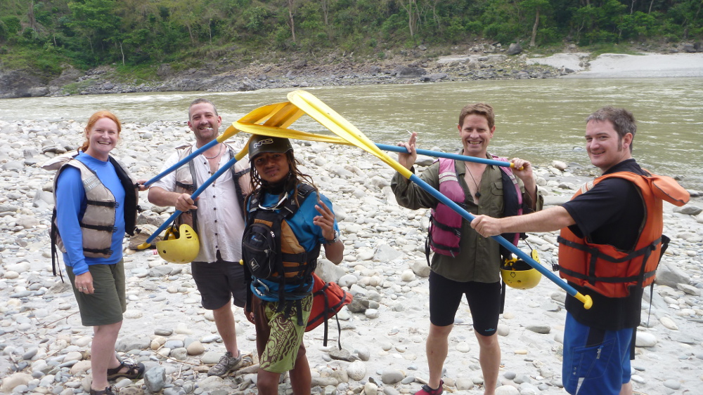White Water Rafting Trishuli River Nepal